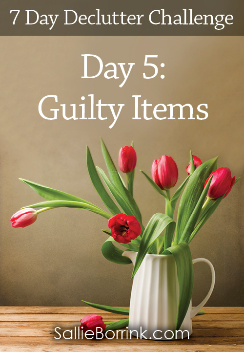 Guilty Items - 7 Day Declutter Challenge