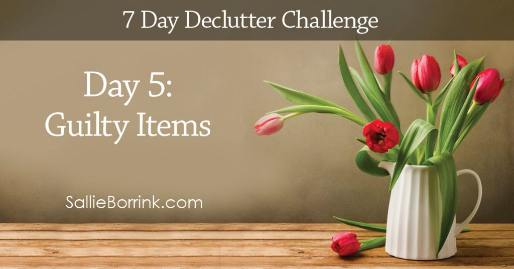7 Day Declutter Challenge - Day 5w