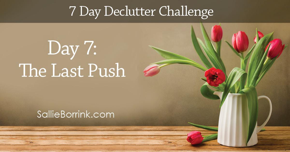 7 Day Declutter Challenge - Day 7w