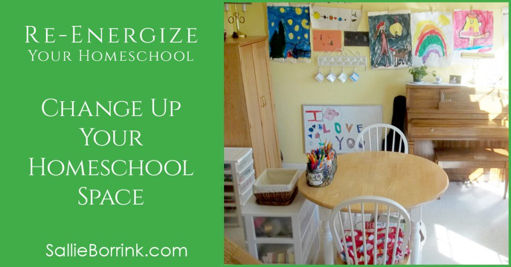 Creative Ways to Re-Energize Your Homeschool Space 2