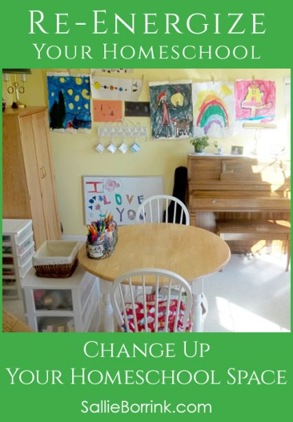 Creative Ways to Re-Energize Your Homeschool Space