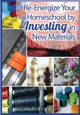 Re-Energize Your Homeschool by Investing in New Materials