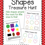 Shapes Treasure Hunt – Free hide and seek game with colors and shapes for toddlers and preschoolers