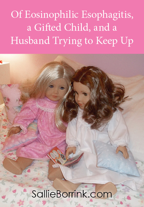 Of Eosinophilic Esophagitis, a gifted child, and a husband trying to keep up