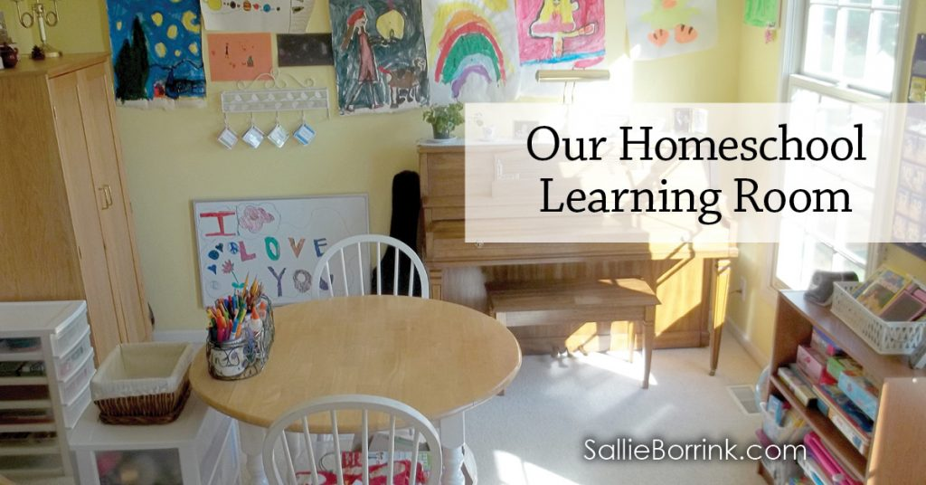 Our Homeschool Learning Room 2014-2015 2