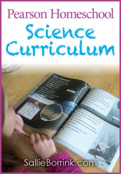 Pearson Homeschool Science Curriculum Review