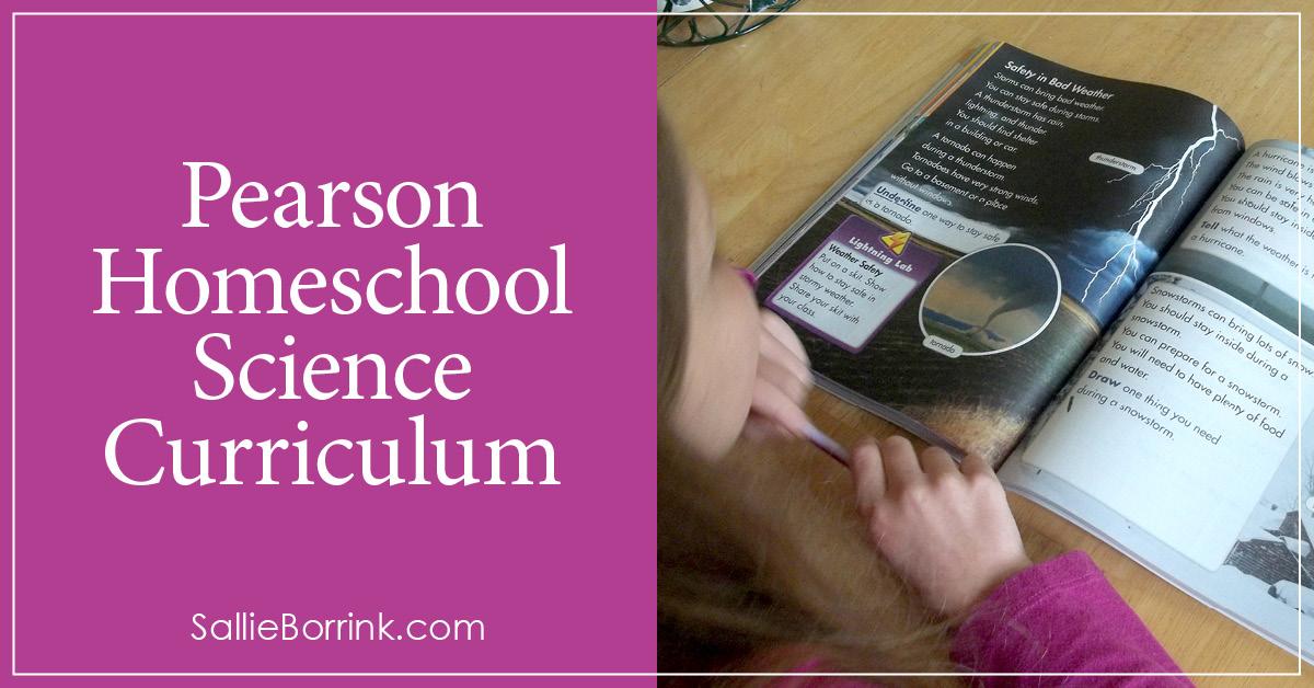 Pearson Homeschool Science Curriculum 2