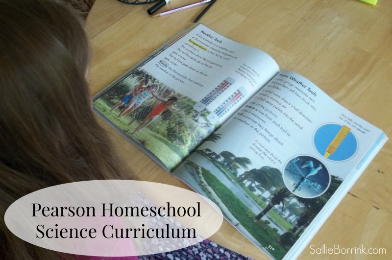 Pearson Homeschool Science Curriculum