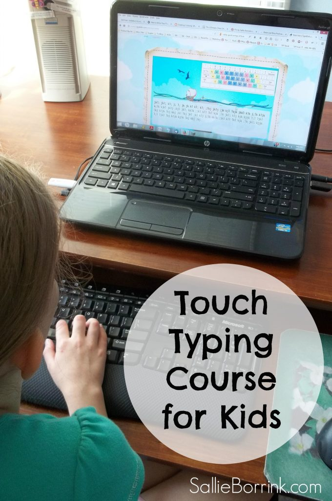 Touch Typing Course for Kids
