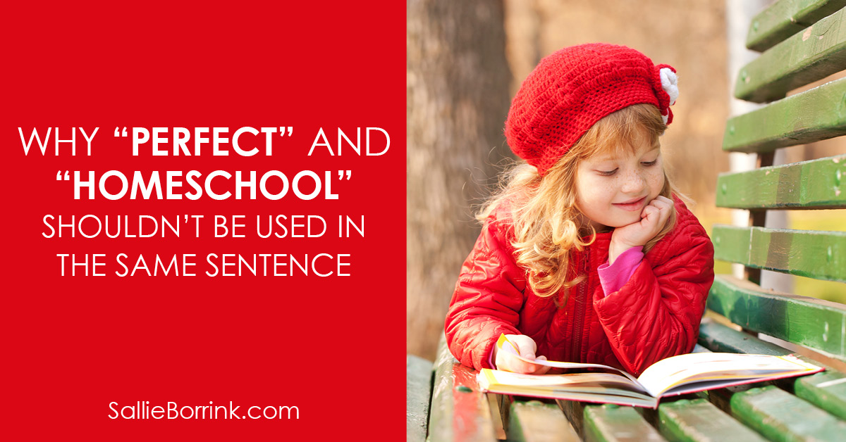 """Why """"perfect"""" and """"homeschool"""" shouldn't be used in the same sentence 2"""