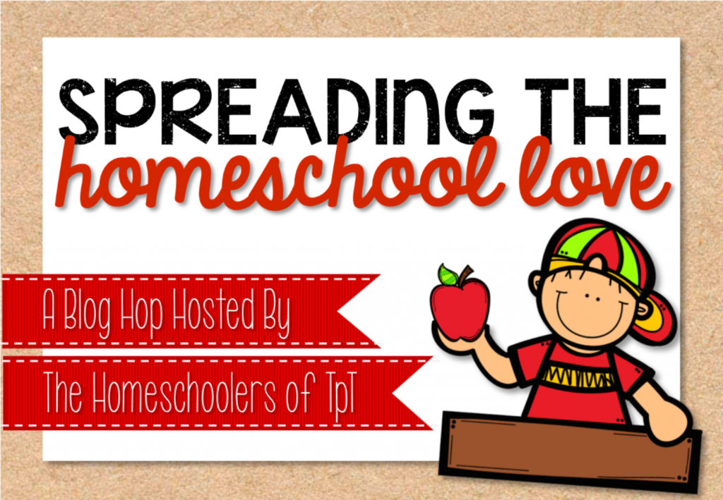 TpT Homeschool Blog Hop Image