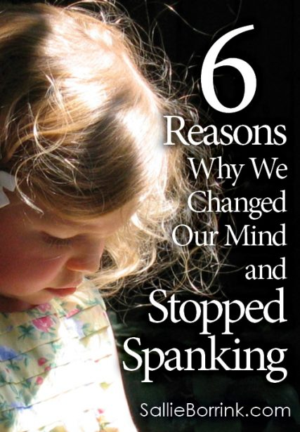 6 Reasons Why We Changed Our Mind and Stopped Spanking