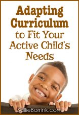 Adapting Curriculum to Fit Your Child's Needs