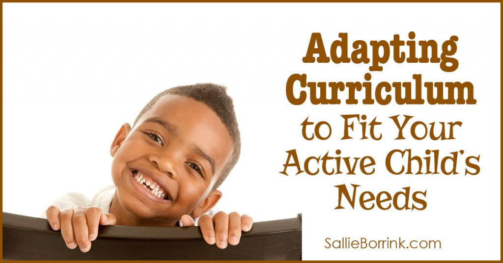 Adapting Curriculum to Fit Your Active Child's Needs 2