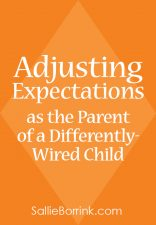 Adjusting Expectations as the Parent of a Differently-Wired Child