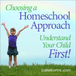Choosing a Homeschool Approach