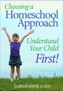 Choosing a Homeschool Approach 2