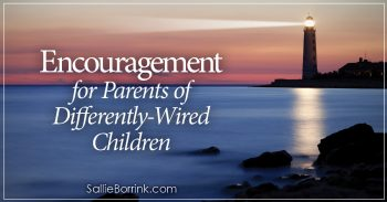 Encouragement for Parents of Differently-Wired Children 2