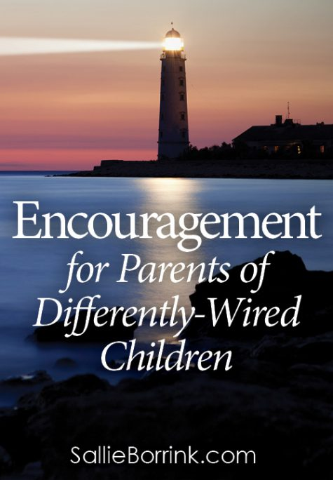 Encouragement for Parents of Differently-Wired Children