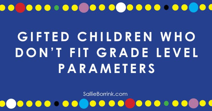 Gifted Children Who Don't Fit Grade Level Parameters 2