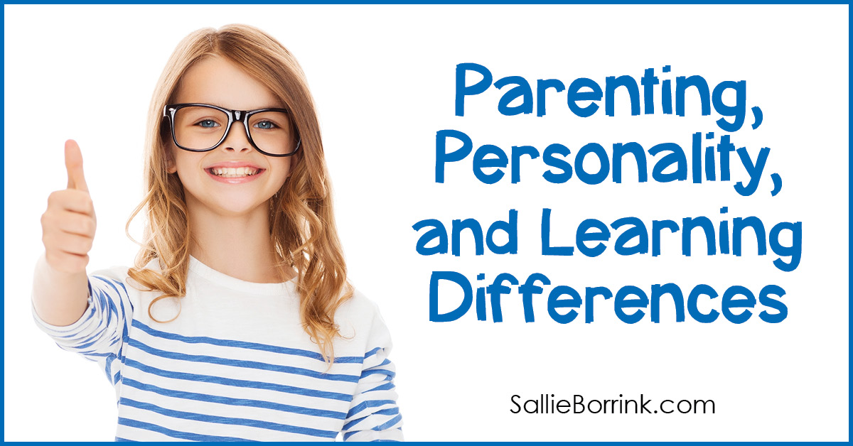 Parenting, Personality and Learning Differences 2