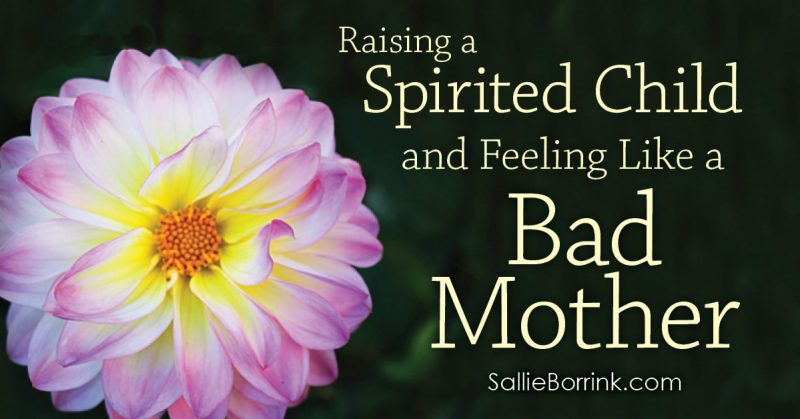 Raising a Spirited Child and Feeling Like a Bad Mother 2