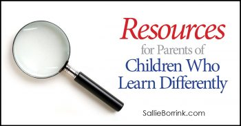 Resources for Parents of Children Who Learn Differently 2
