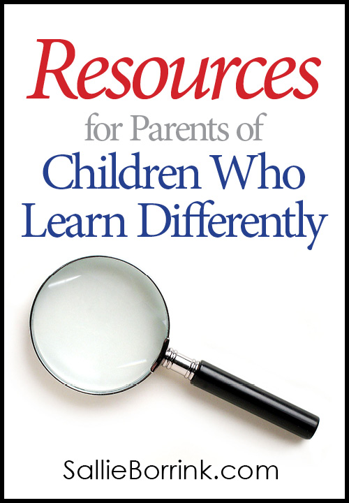 Resources for Parents of Children Who Learn Differently