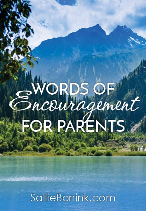 Words of Encouragement for Parents