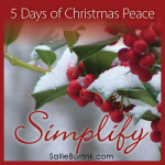 5 Days Christmas Peace-Simplify