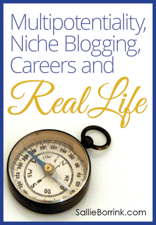 Multipotentiality, Niche Blogging, Careers and Real Life