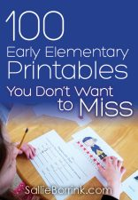 100 Early Elementary Printables You Don't Want to Miss
