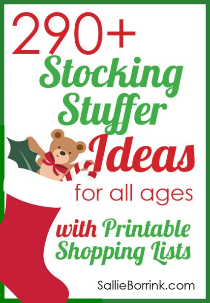 290+ Stocking Stuffers 2