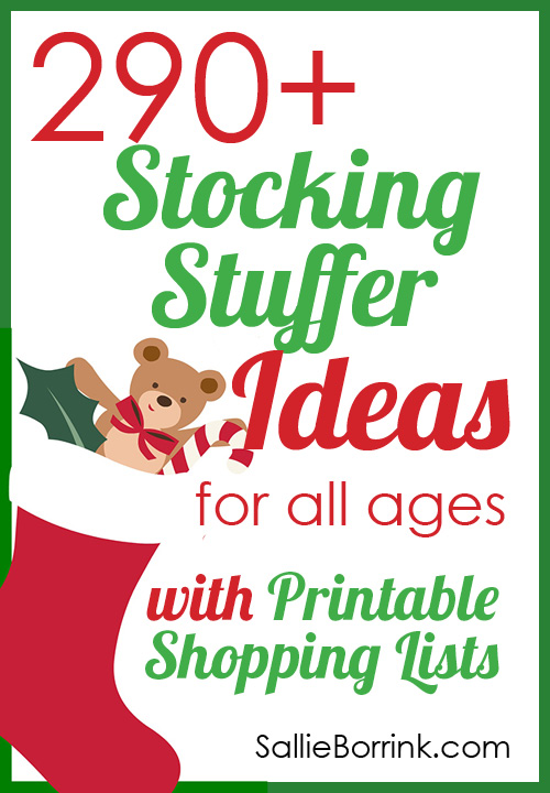 290+ Stocking Stuffers Ideas with Printable List