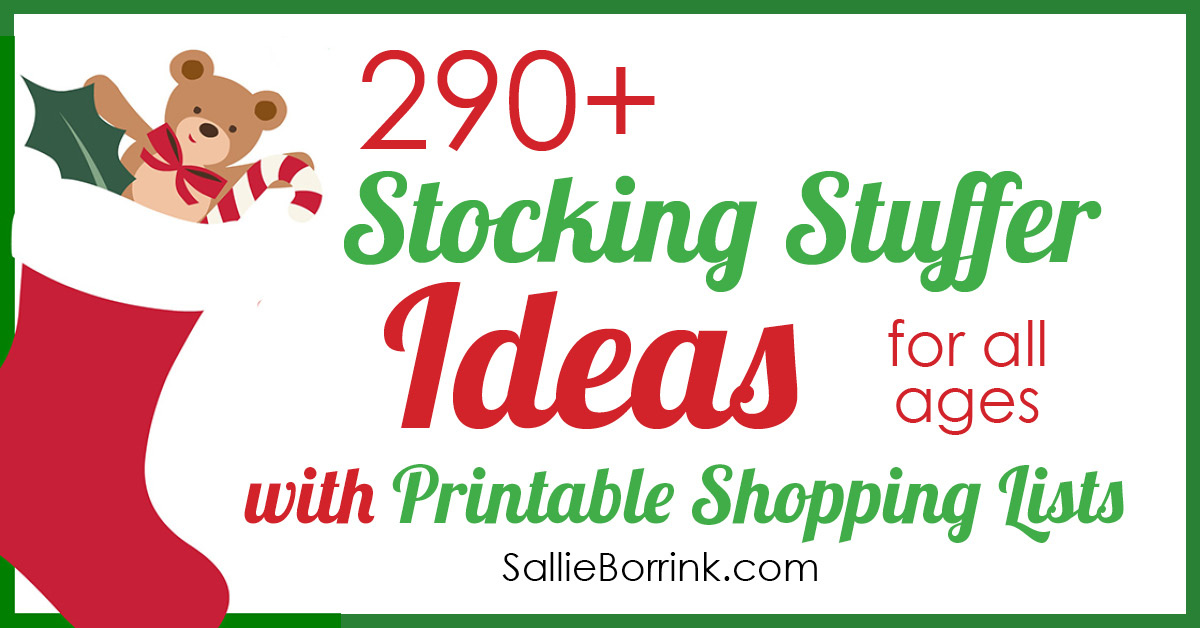 290+ Stocking Stuffers Ideas with Printable List 2