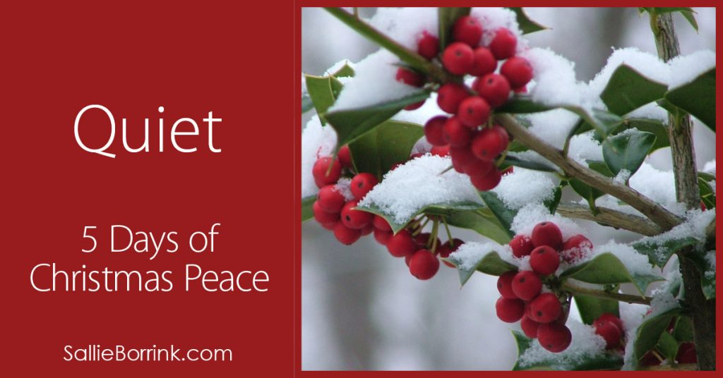 Quiet – 5 Days of Christmas Peace