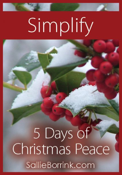 Simplify – 5 Days of Christmas Peace