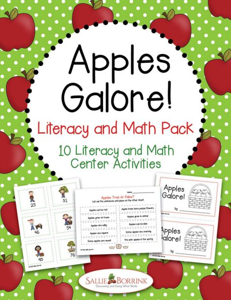 Apples Galore Literacy and Math Pack