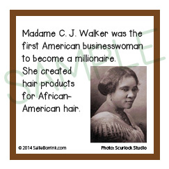 Famous Black History People Madame Walker