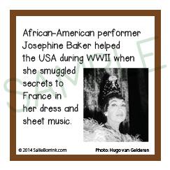 Famous Black History People Josephine Baker