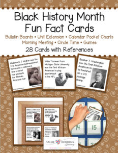 Black History Month Fun Facts Cards