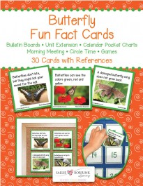 Butterfly Fact Cards
