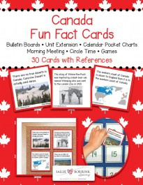 Canada Fact Cards