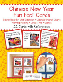 Chinese New Year Fun Fact Cards