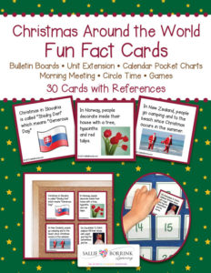 Christmas Around the World Fun Fact Cards