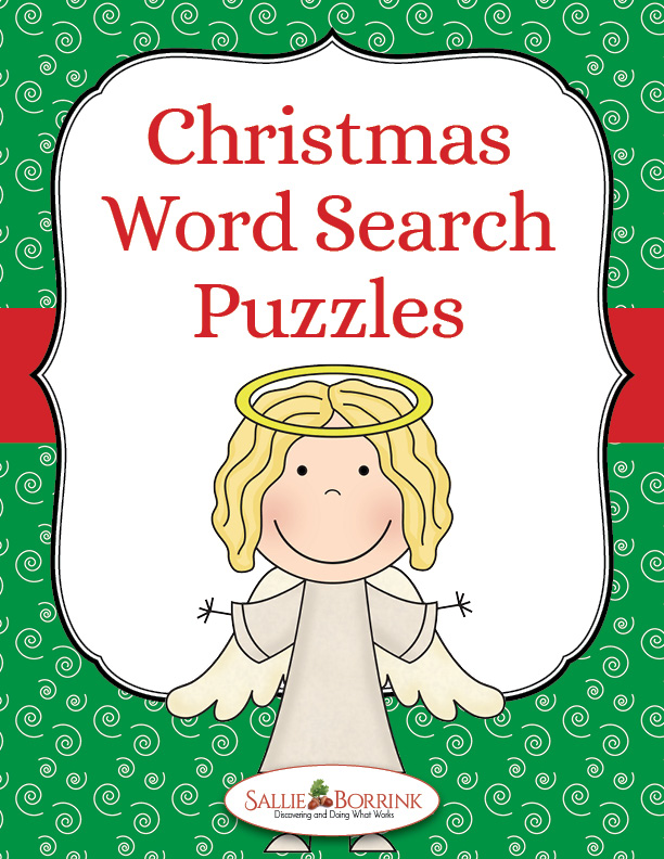 Free Christmas Word Search Puzzles