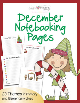 December Notebooking Cover