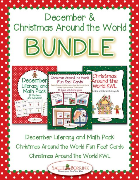 December and Christmas Around the World Bundle