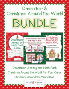 Christmas Around the World and December BUNDLE