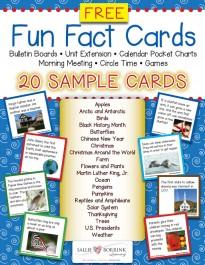 Fact Cards Sampler
